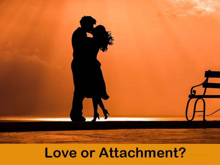 What is the difference between Love and Attachment?