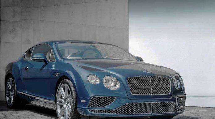 Man berries his Bentley