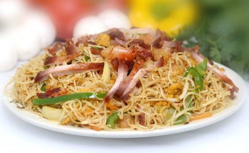 Singapore noodles from Hong Kong