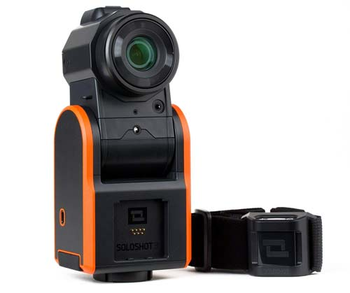 Soloshot is the camera that will follow your movements