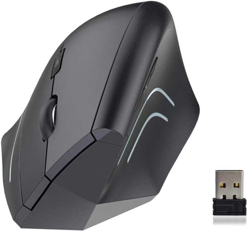 our 2nd choice for the best vertical mouse