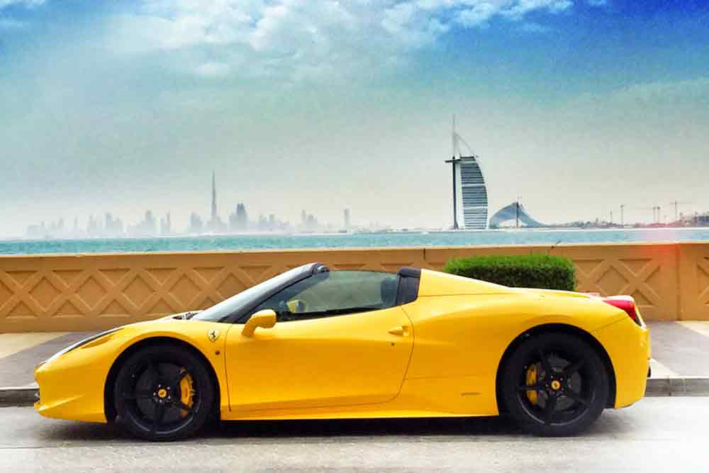 Car Rental in Dubai from Airport
