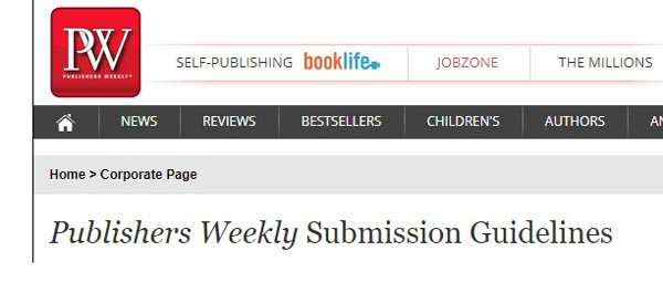 Publishers weekly guidelines