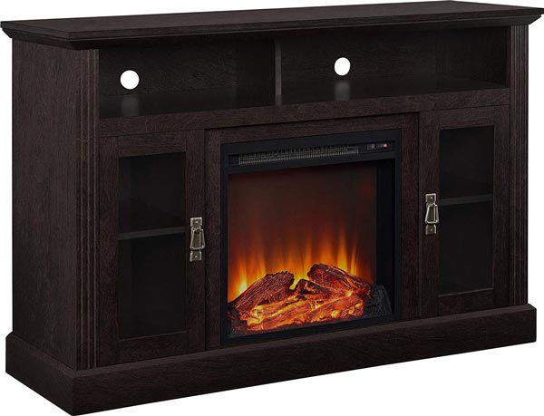 Ameriwood Home Chicago Electric Fireplace TV Console