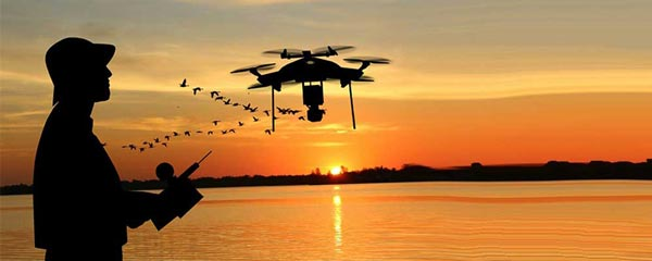 How does fishing with drones work