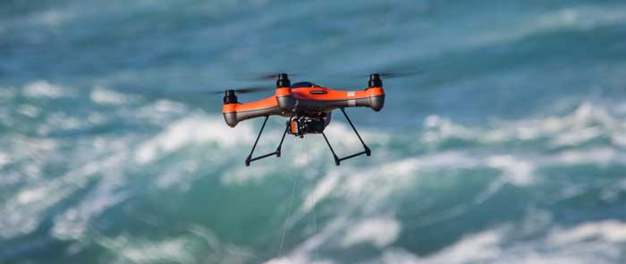 What is drone fishing