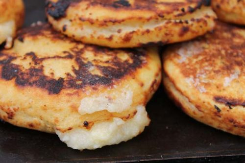 Arepa from Colombia and Venezuela
