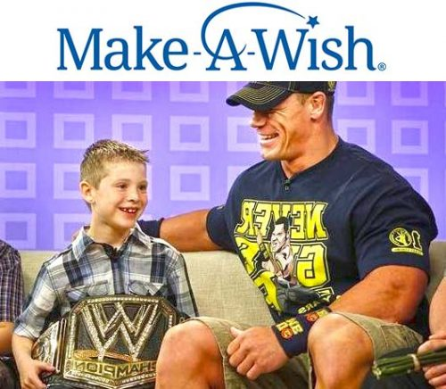 John Cena Make a wish foundation