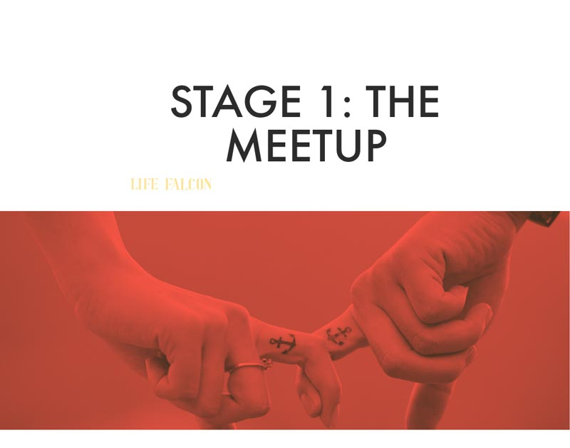 Stage 1 of the Emotional Affair - The Meetup