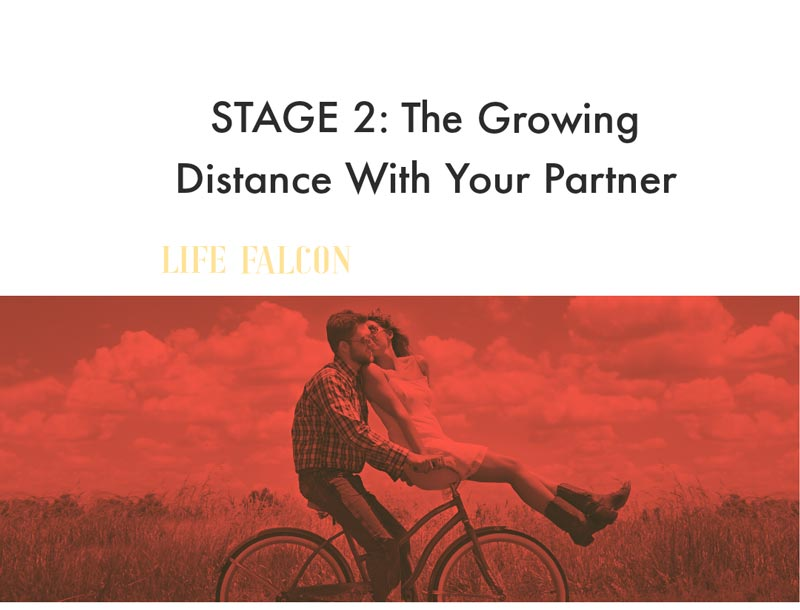 Stage 2: The Growing Distance With Your Partner