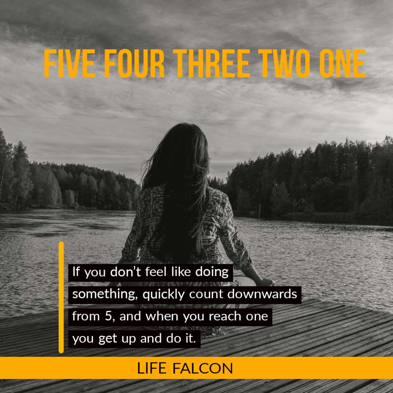 Five Four Three Two One - Mantra to Live By