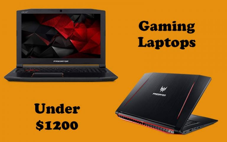 Laptops under 1200 for gaming