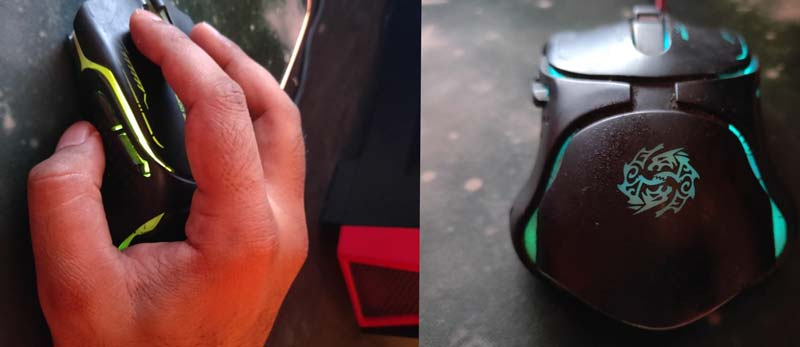 How important is holding a mouse properly?