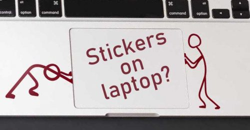 Should I Put Stickers On My Laptop?