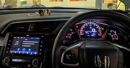 Touch Screen Radios for Cars