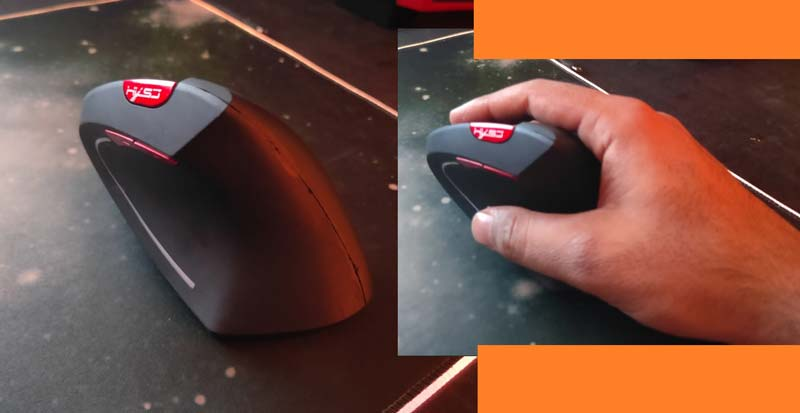 How to hold a mouse ergonomically?