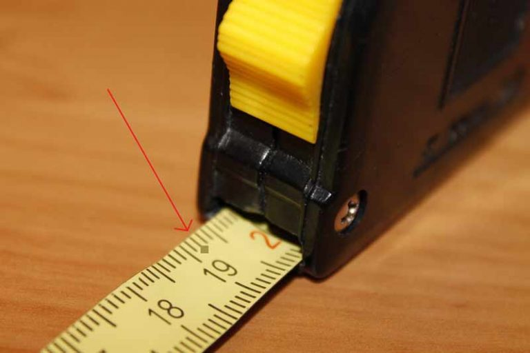 What is the Black Diamond on a Measuring Tape for?