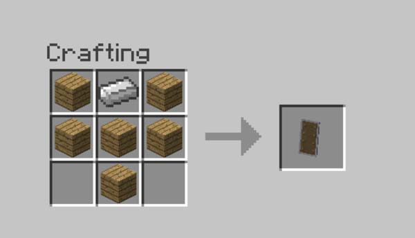 Craft A Shield In Minecraft