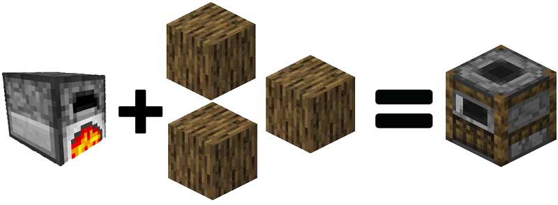 Smoker in Minecraft With Crafting