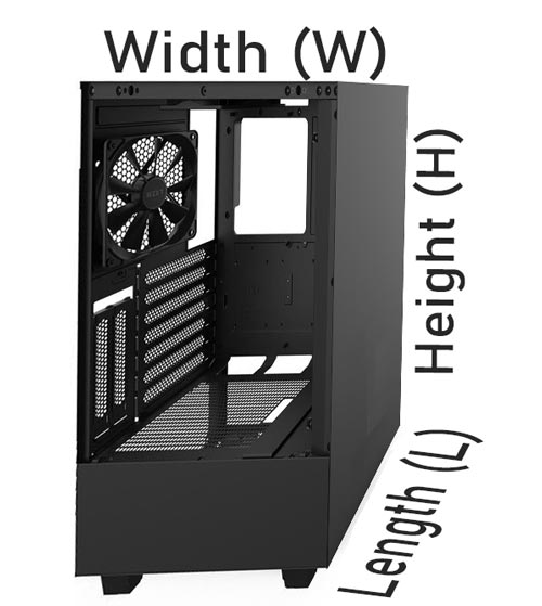 Specifications of these ATX Micro Cases