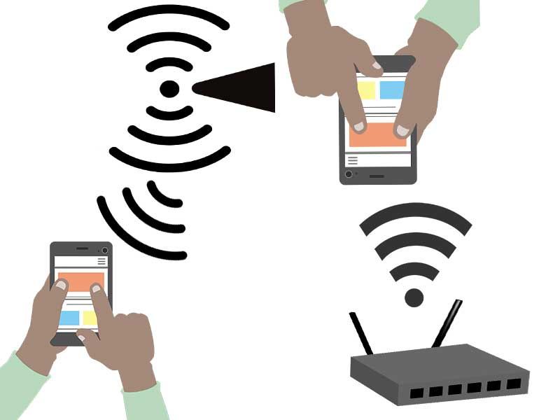 Difference Between The Wi-Fi And Hotspot