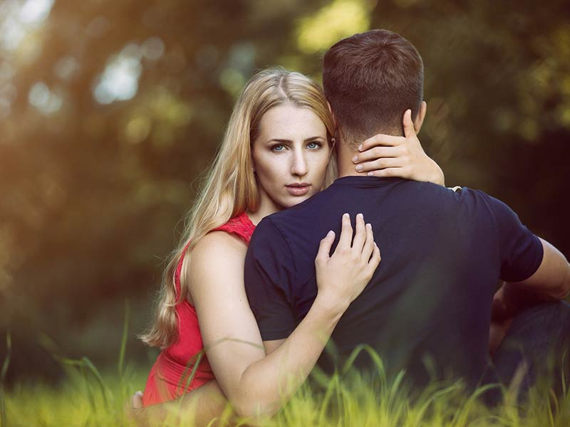 Signs that he is trying to make you jealous